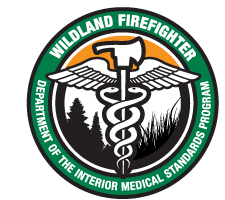 Wildland Firefighter Department Of The Interior Medical Standards Program  Logo